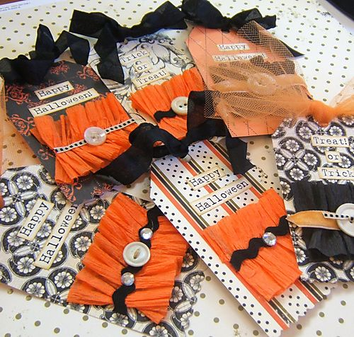 Books halloween cards 002
