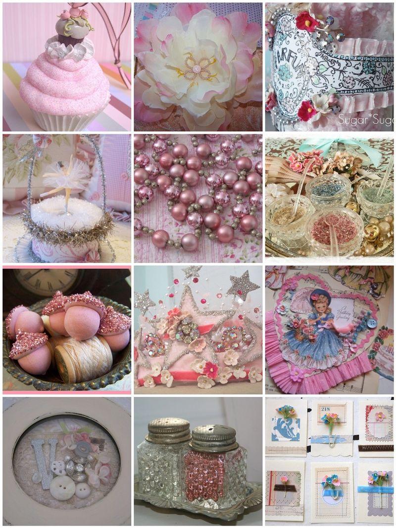 Pink Saturday Mosaic