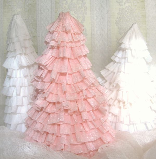 Creative Chaos The Official Crepe Paper Christmas Tree Tutorial