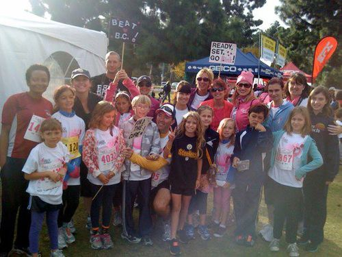 Race for the cure 8
